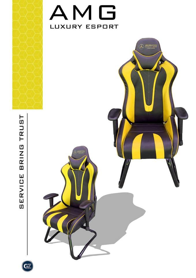 Ghế game AMG luxury esport Siêu phẩm của tương lai